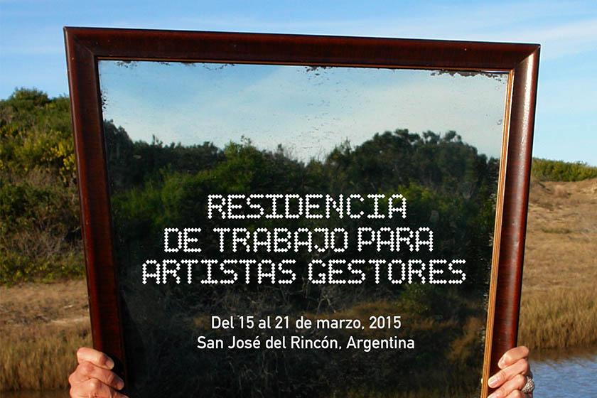 Residencia especial / Artistas gestores