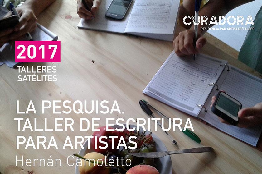 2017 / Talleres Satélites: Camoletto